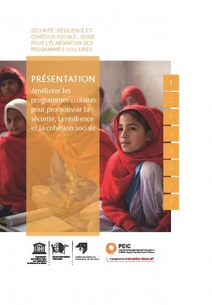 Présentation : Améliorer les programmes scolaires pour promouvoir la sécurité, la résilience et la cohésion sociale